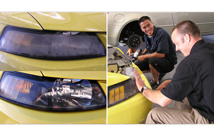 Cloudy Headlight Restoration