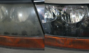 Cloudy Headlights Repaired